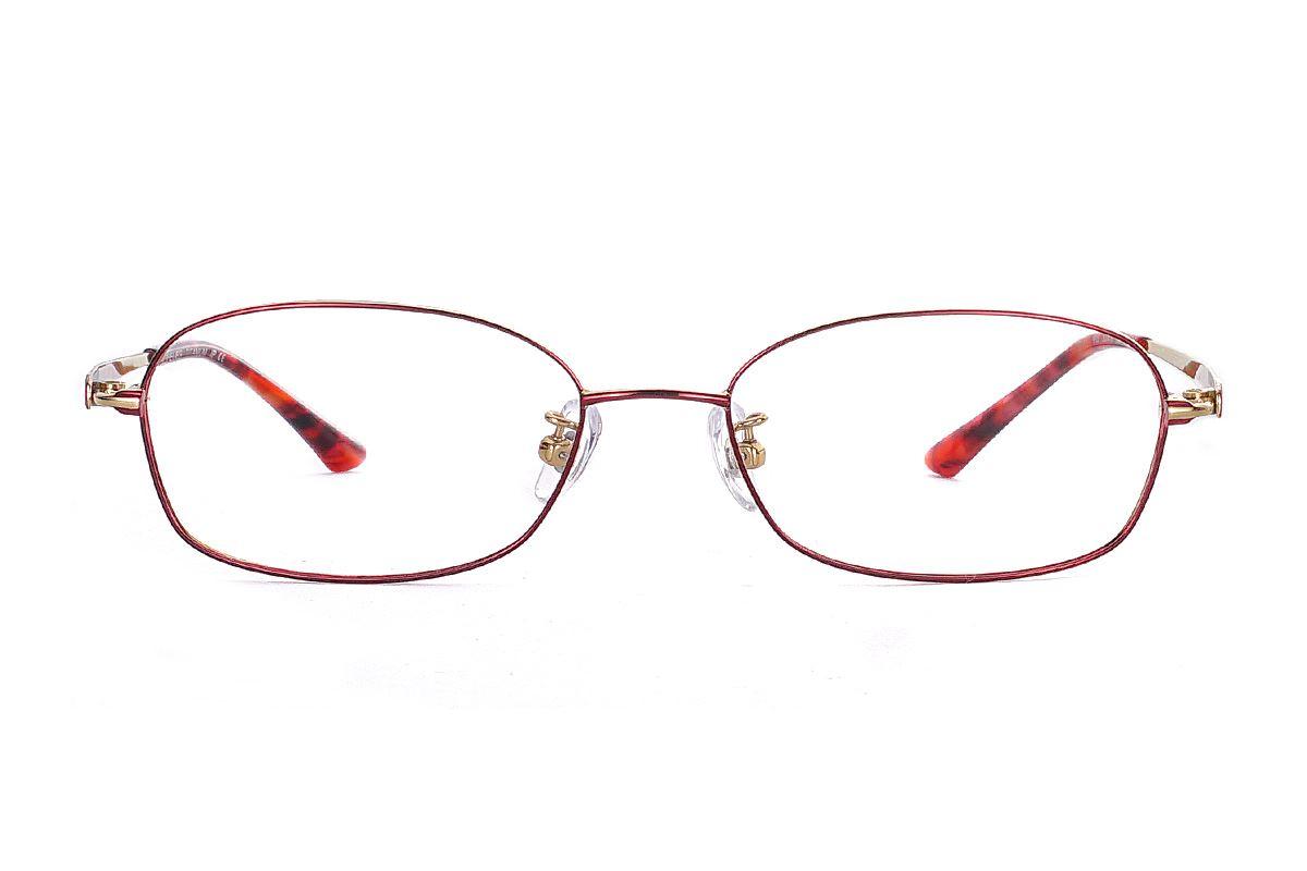 嚴選高質感鈦眼鏡 915-C42
