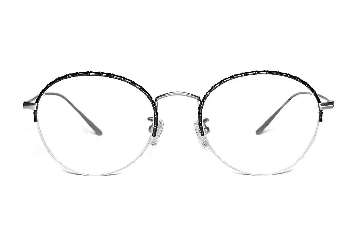 嚴選高質感鈦眼鏡 H6612-C72