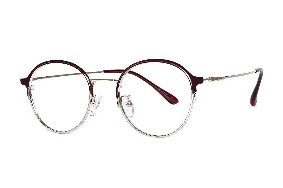 質感細圓框眼鏡 7915-C91
