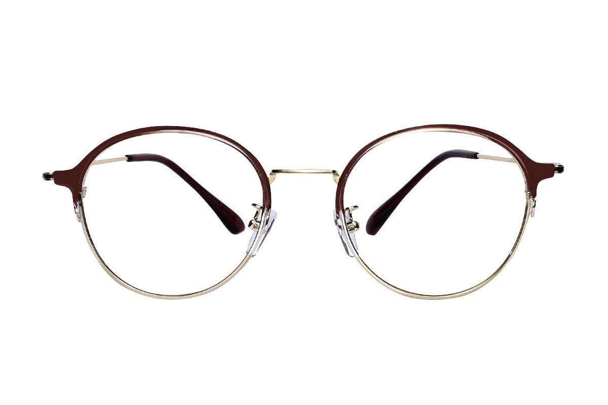 質感細圓框眼鏡 7915-C92