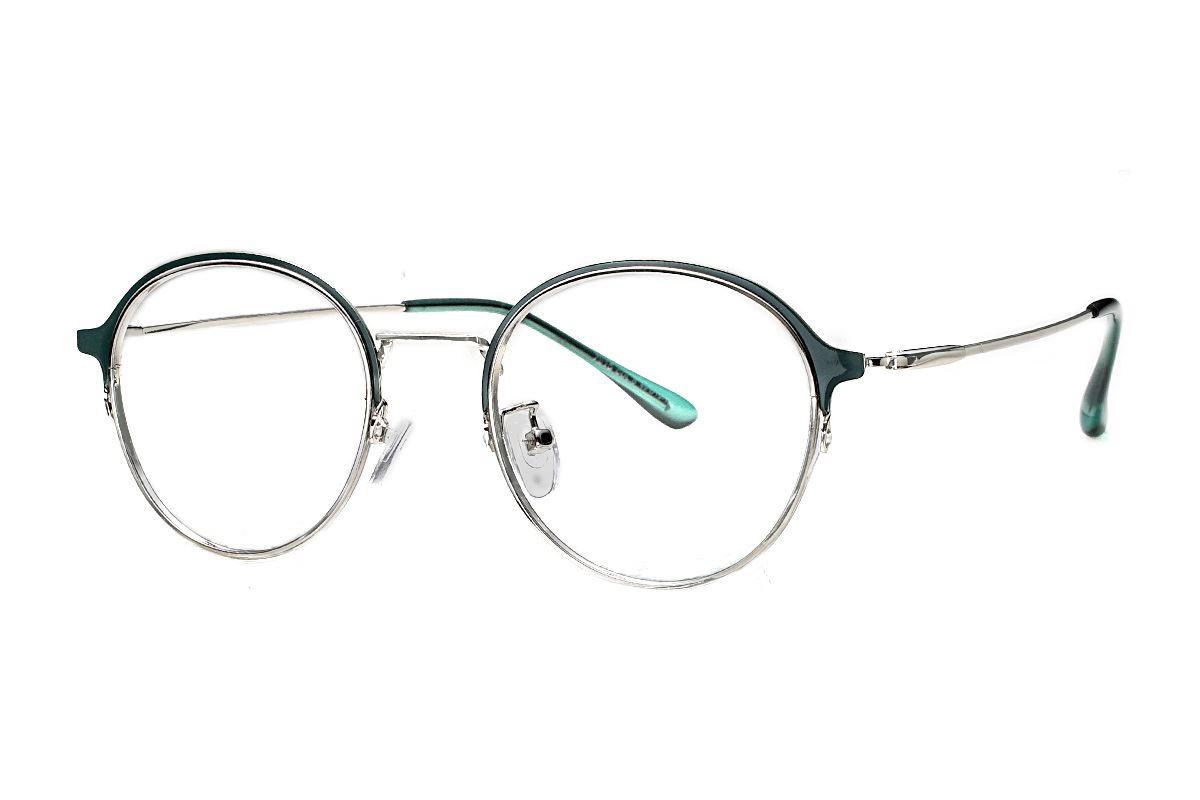 質感細圓框眼鏡 7915-C81
