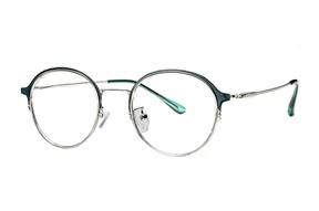 眼鏡鏡框-質感細圓框眼鏡 7915-C8