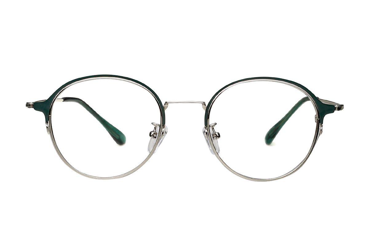質感細圓框眼鏡 7915-C82