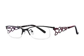 眼鏡鏡框-高質感純鈦淑女框 9012-C10