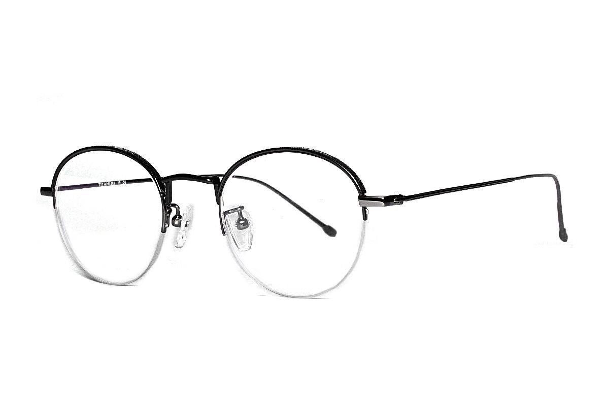 嚴選高質感鈦眼鏡 H6382-C21