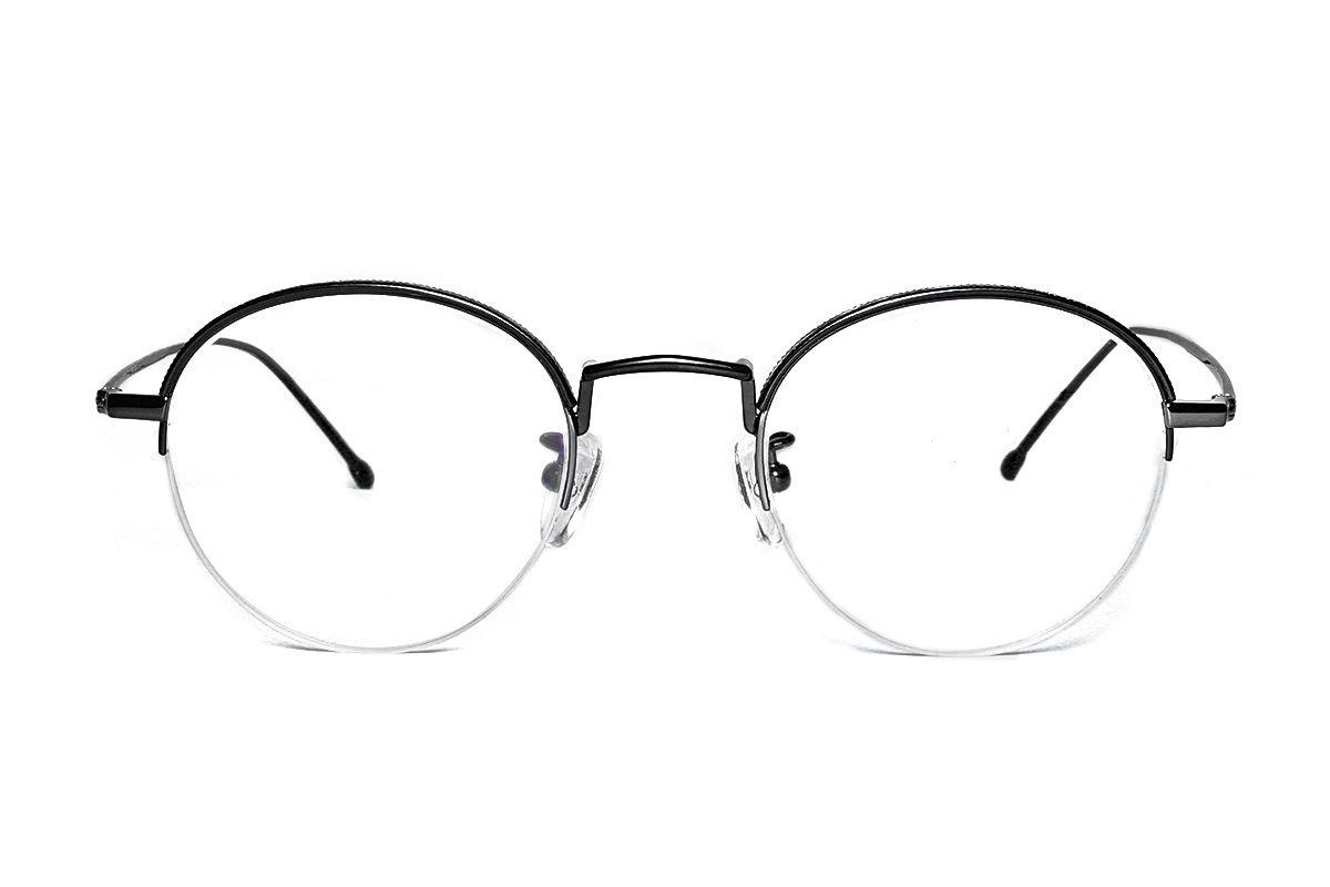 嚴選高質感鈦眼鏡 H6382-C22