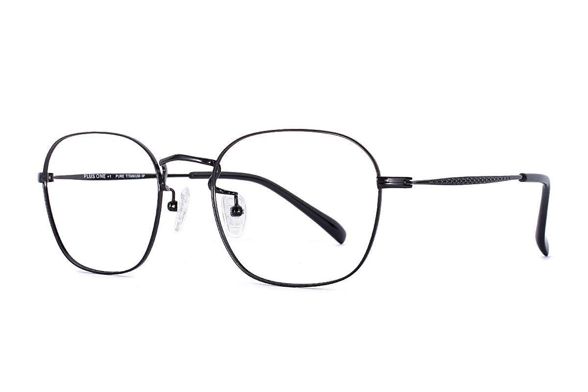 嚴選高質感純鈦眼鏡 高解析521-C10A1