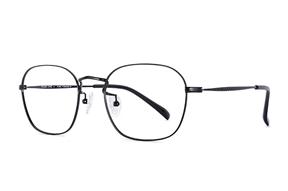 熱賣鏡框-大版 嚴選高質感純鈦眼鏡 521-C10A