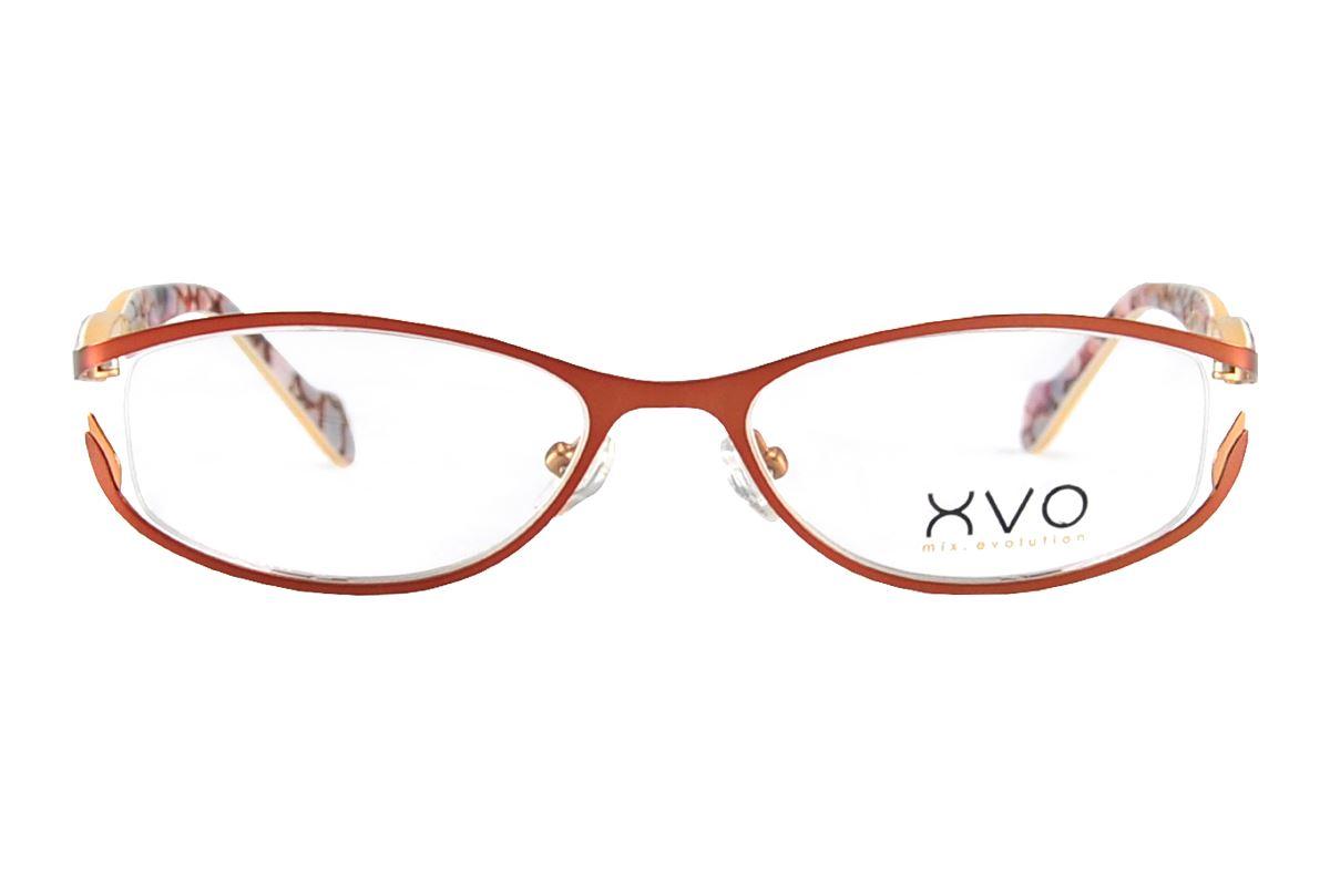 严选造型眼镜框 XVOF1036/O-BO2