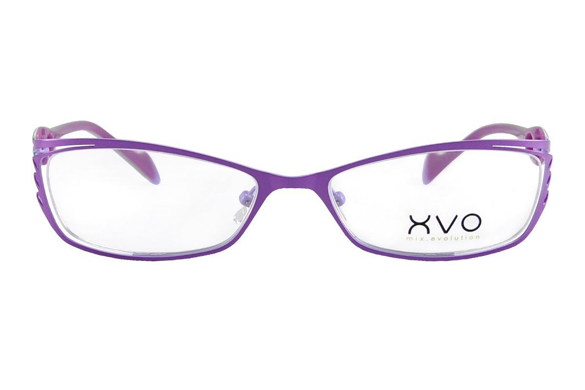 嚴選造型眼鏡框 XVOF1044/O-PU2