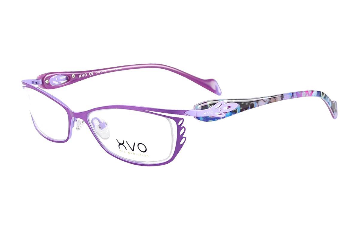 嚴選造型眼鏡框 XVOF1044/O-PU1