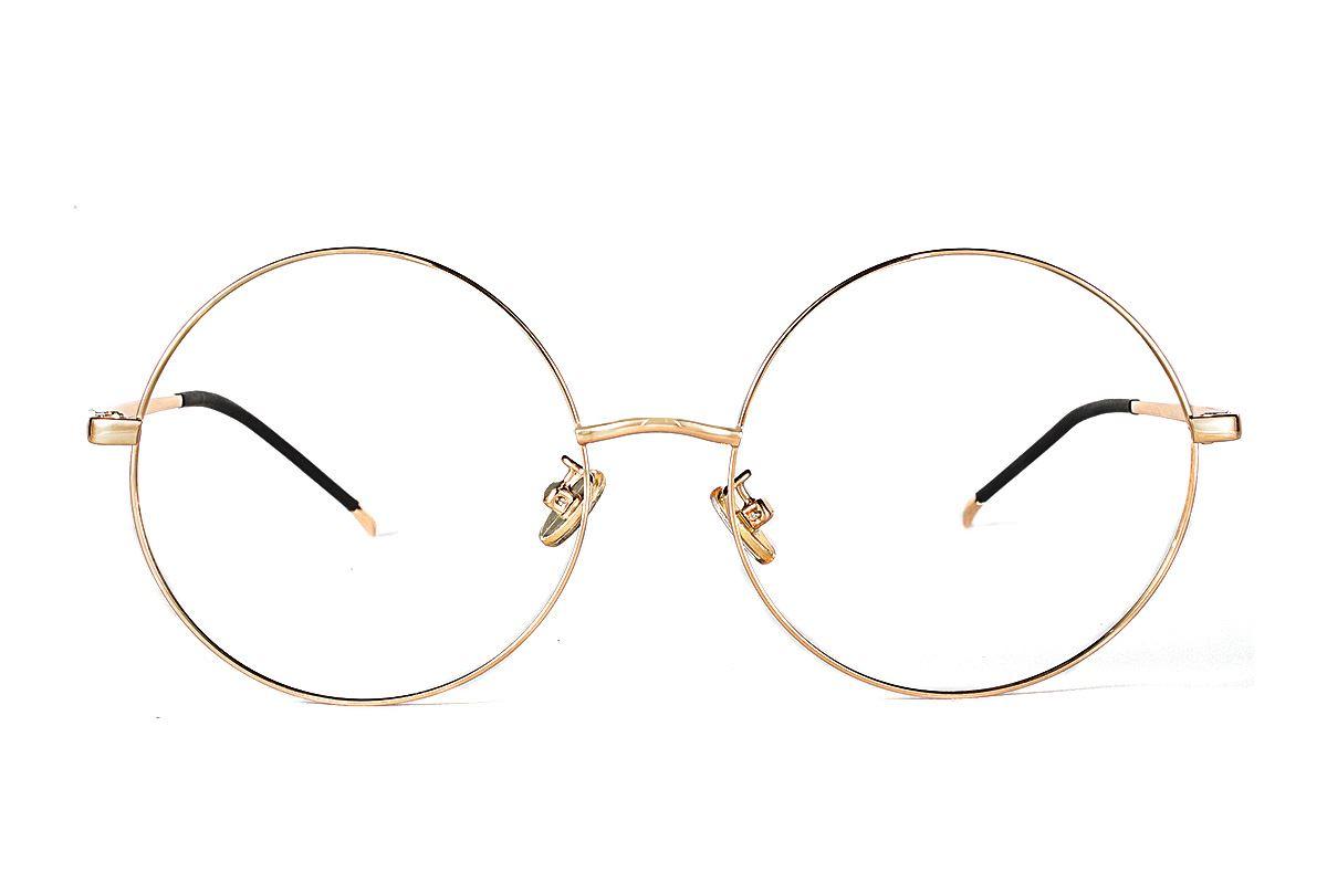 严选细框眼镜 3078-C62