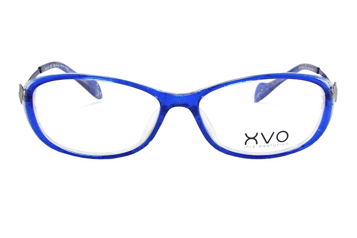 严选造型眼镜框 XVOF2010/O-BE2