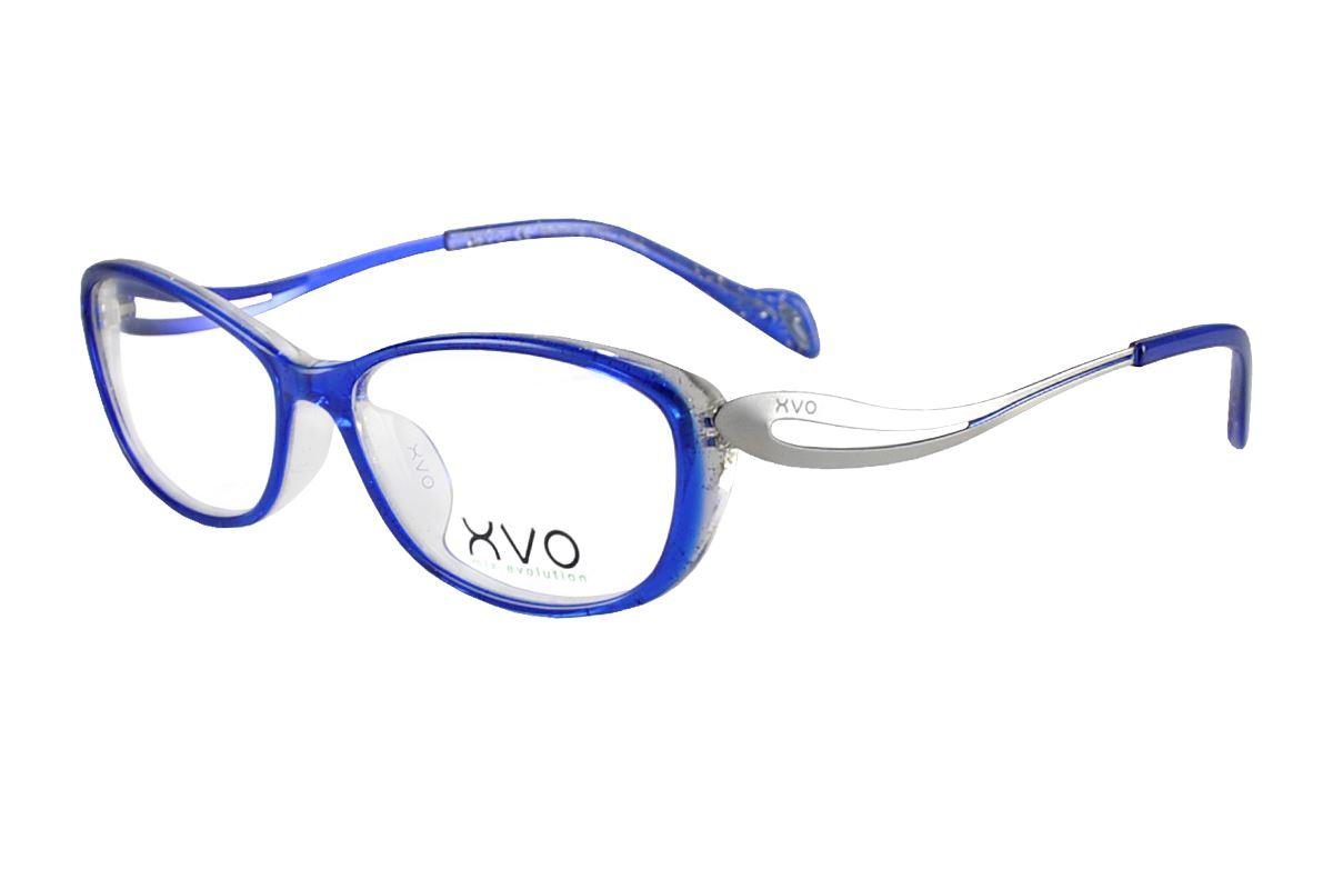 严选造型眼镜框 XVOF2010/O-BE1