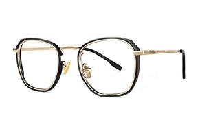 眼鏡鏡框-嚴選質感復古眼鏡 22803-C1