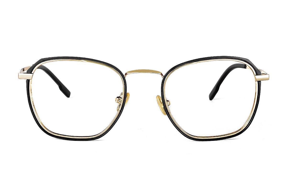 嚴選質感復古眼鏡 22803-C12