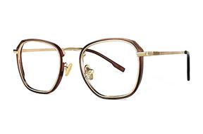 眼鏡鏡框-嚴選質感復古眼鏡 22803-C4