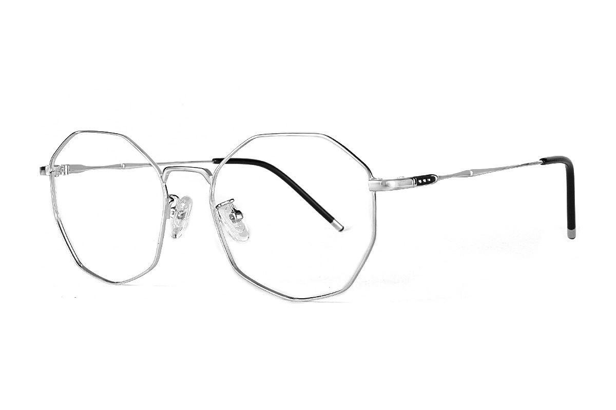 多角細框眼鏡 F3073-C61