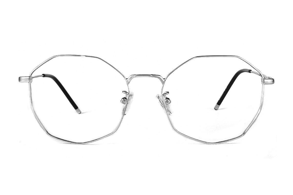 多角細框眼鏡 F3073-C62