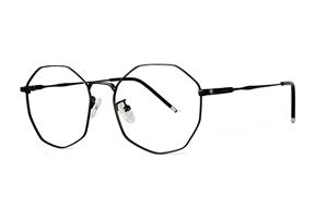 眼鏡鏡框-多角細框眼鏡 F3073-C1