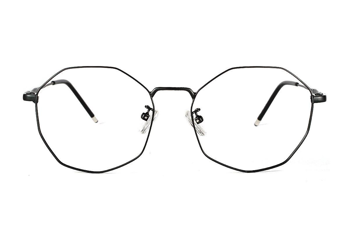 多角细框眼镜 F3073-C12