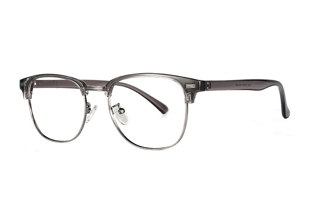 眉架质感眼镜 3036-C601