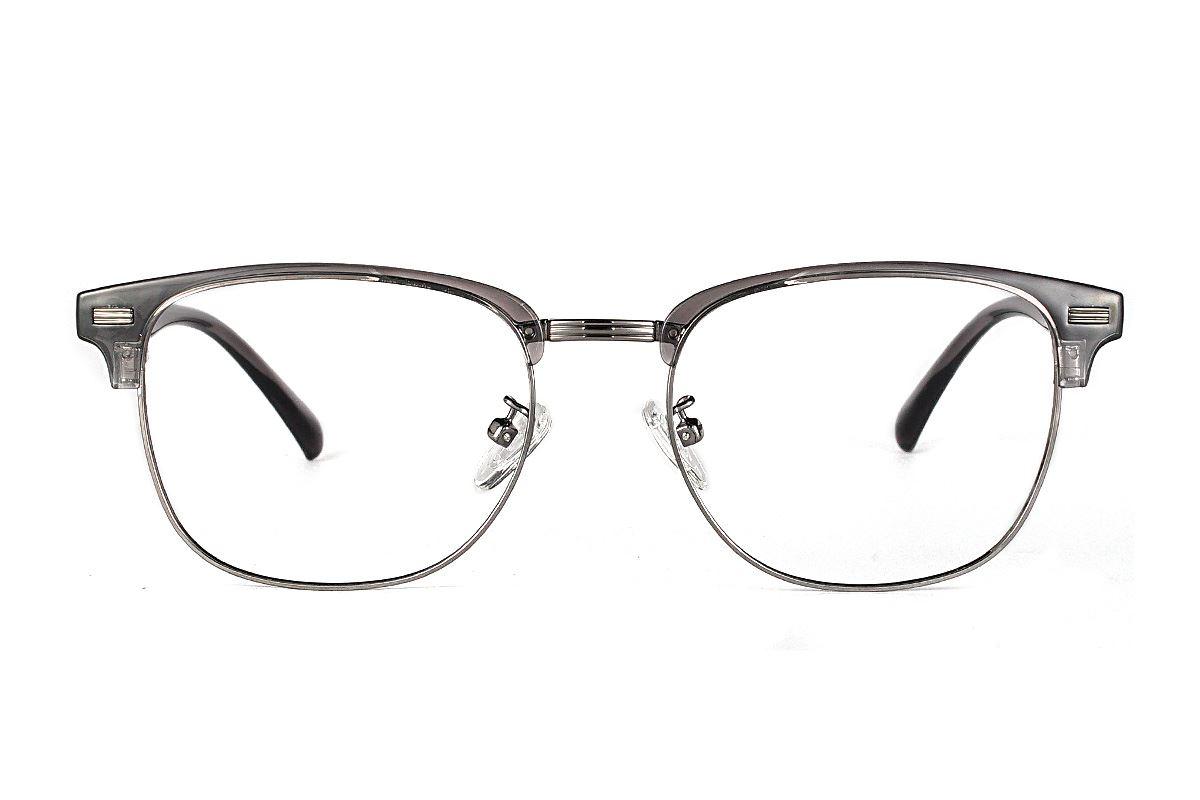 眉架质感眼镜 3036-C602