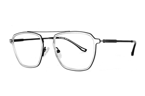 眼镜镜框-高质感钛复合框 H6613-C7