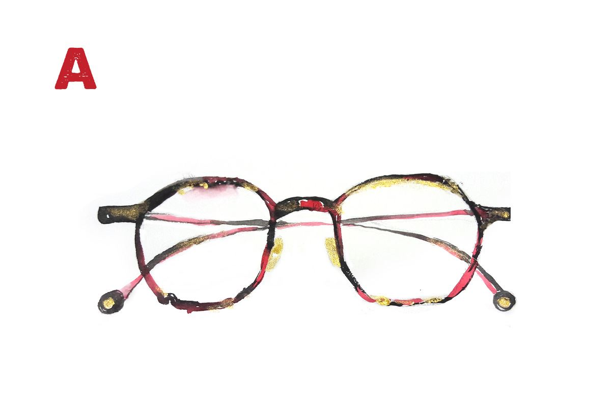手工精緻眼鏡 A-971