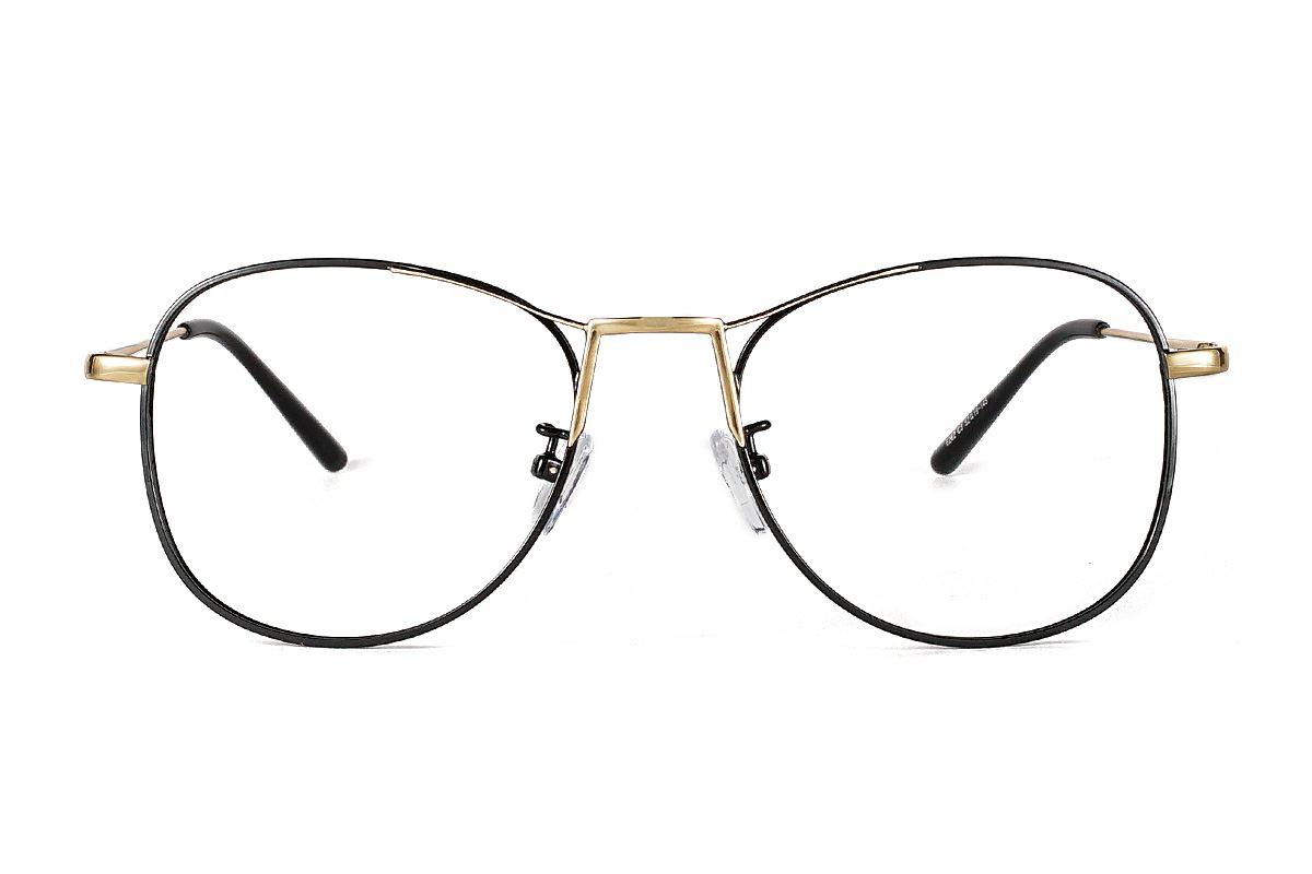 复古飞行员眼镜 6262-C32