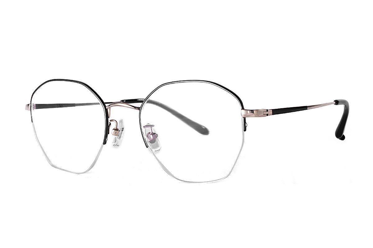 嚴選多角鈦眼鏡 922-C1A1