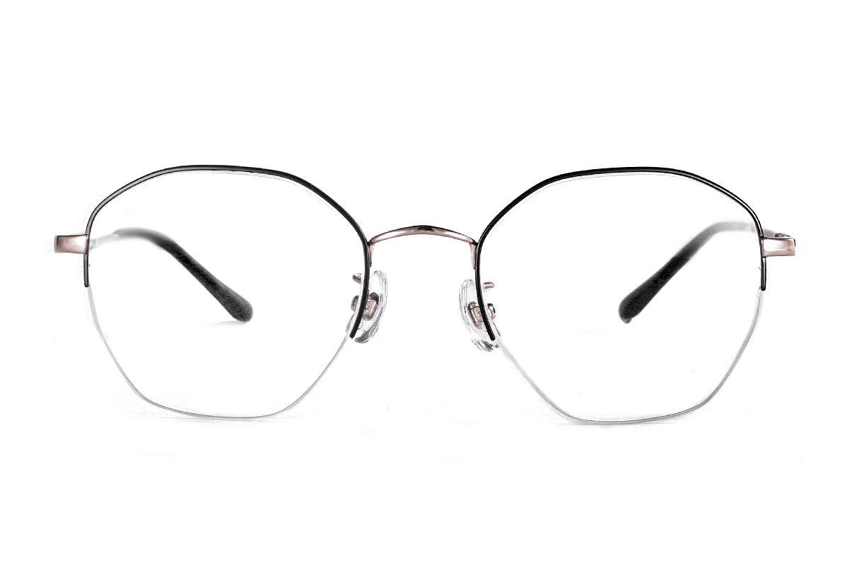 严选多角钛眼镜 922-C1A2