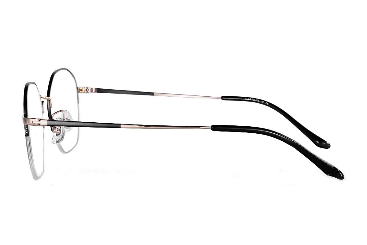 严选多角钛眼镜 922-C1A3