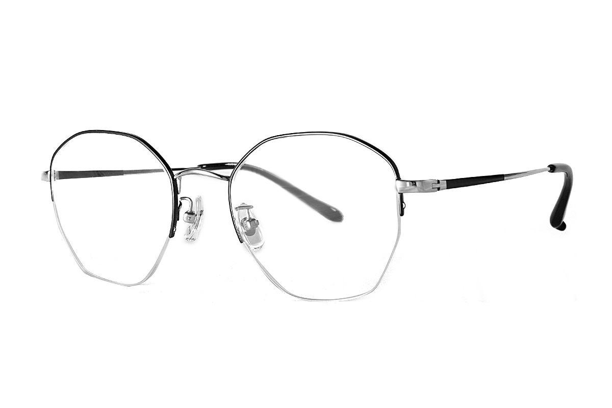 严选多角钛眼镜 922-C1B1