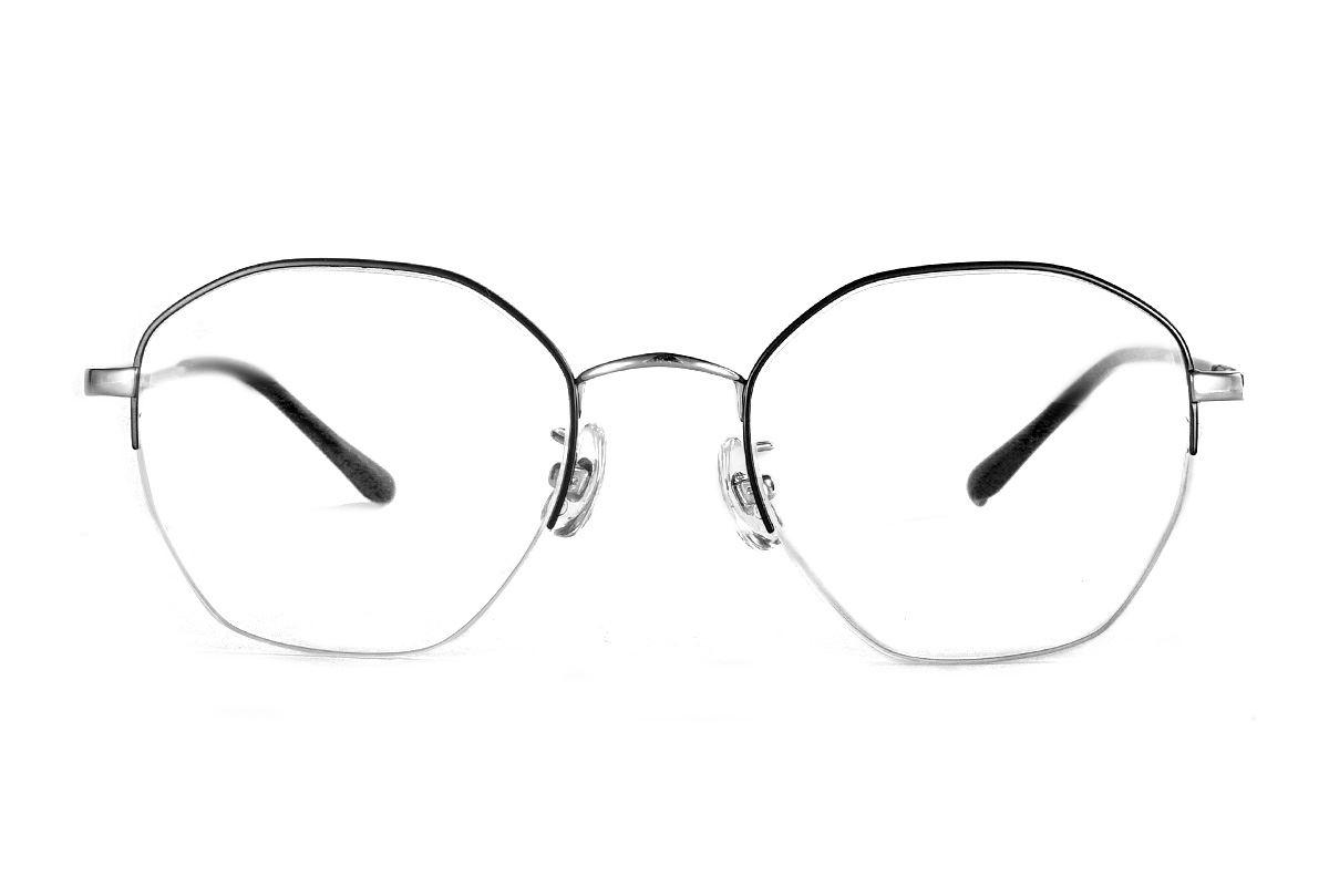 严选多角钛眼镜 922-C1B2
