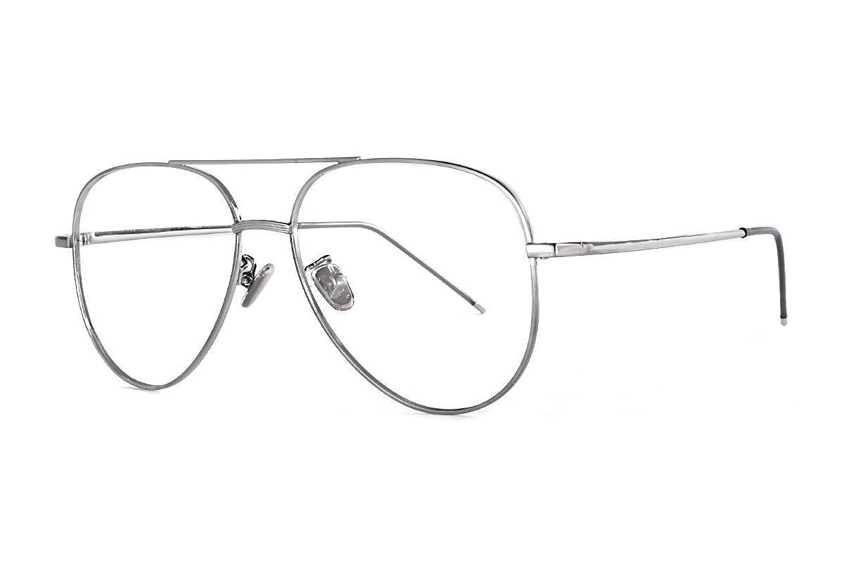 銀色飛行員眼鏡 33003-C51