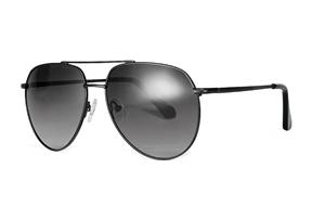 太陽眼鏡-嚴選偏光太陽鏡 FM1156-黑灰