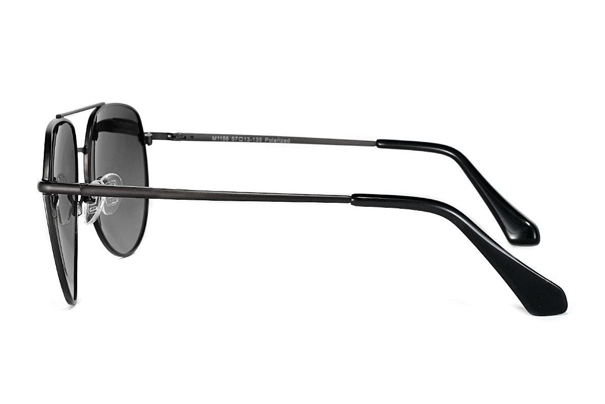 嚴選偏光太陽鏡 FM1156-黑灰3