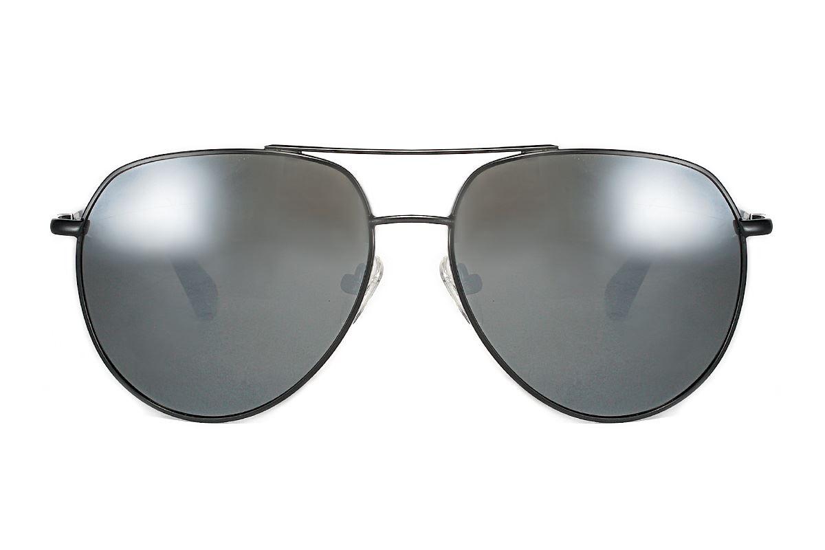 严选偏光太阳镜 fm1156-黑水银2