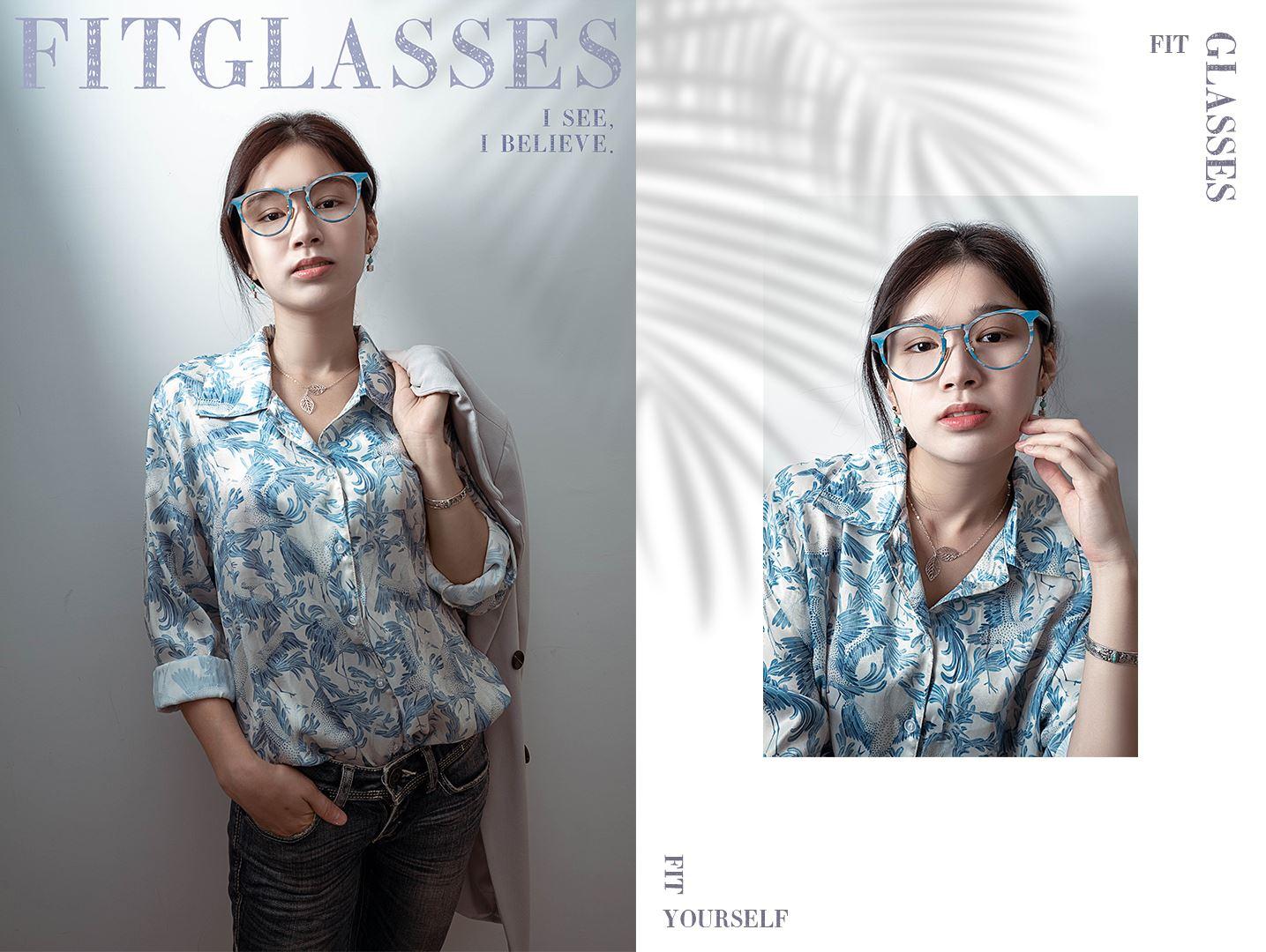 严选木质感眼镜 M5191-SC34