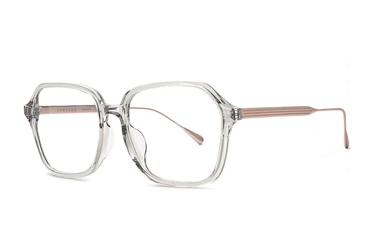 高質感透明大眼鏡框 77010-C21
