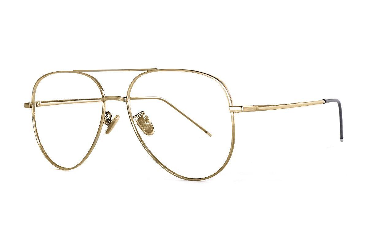 金色飞行员眼镜 33003-C21