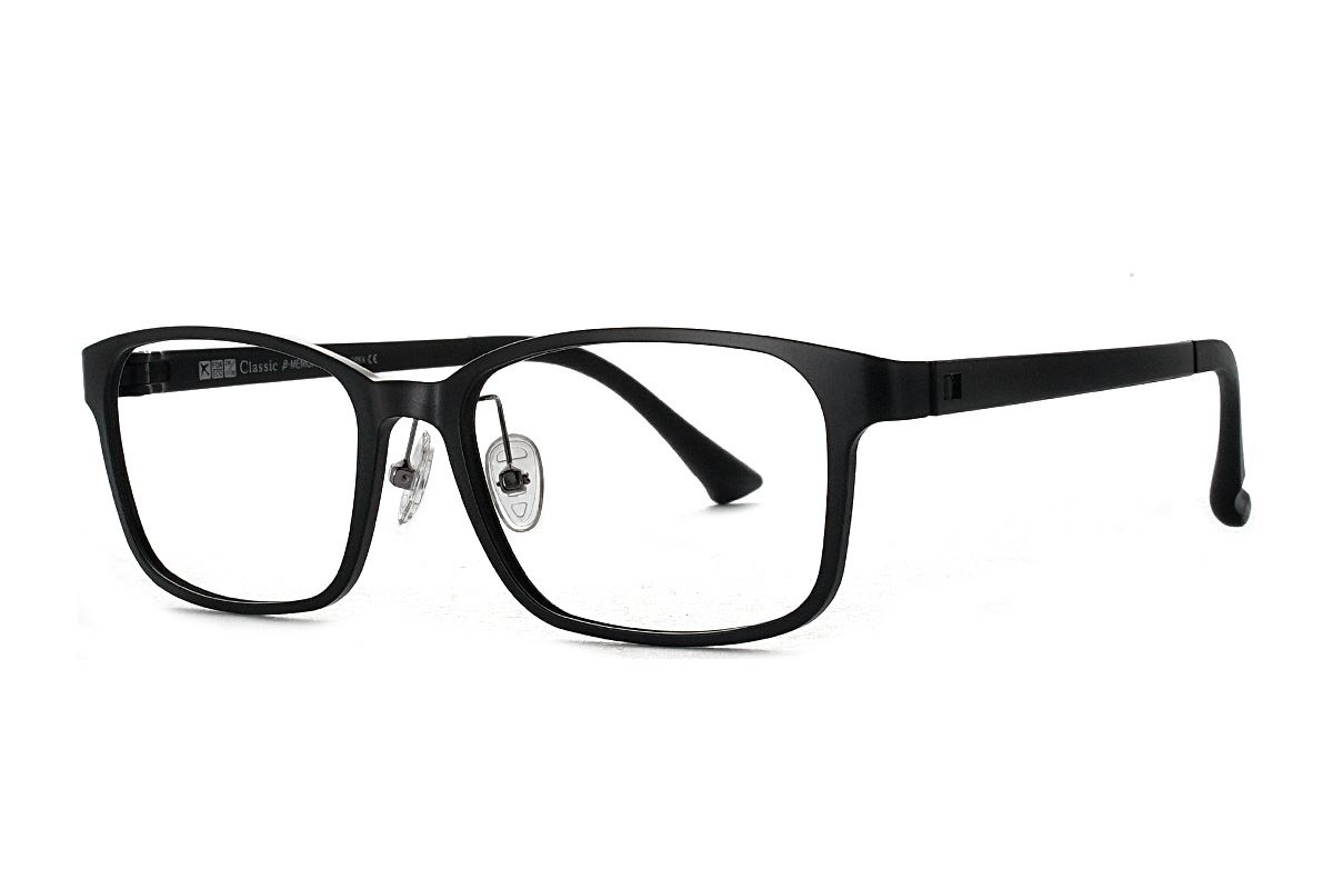 严选韩制塑钢眼镜 1518-BA1