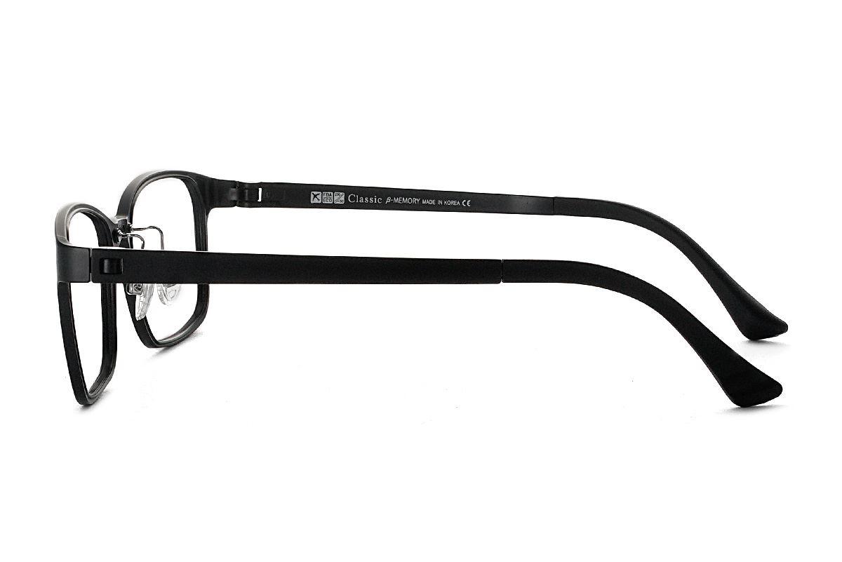 严选韩制塑钢眼镜 1518-BA3