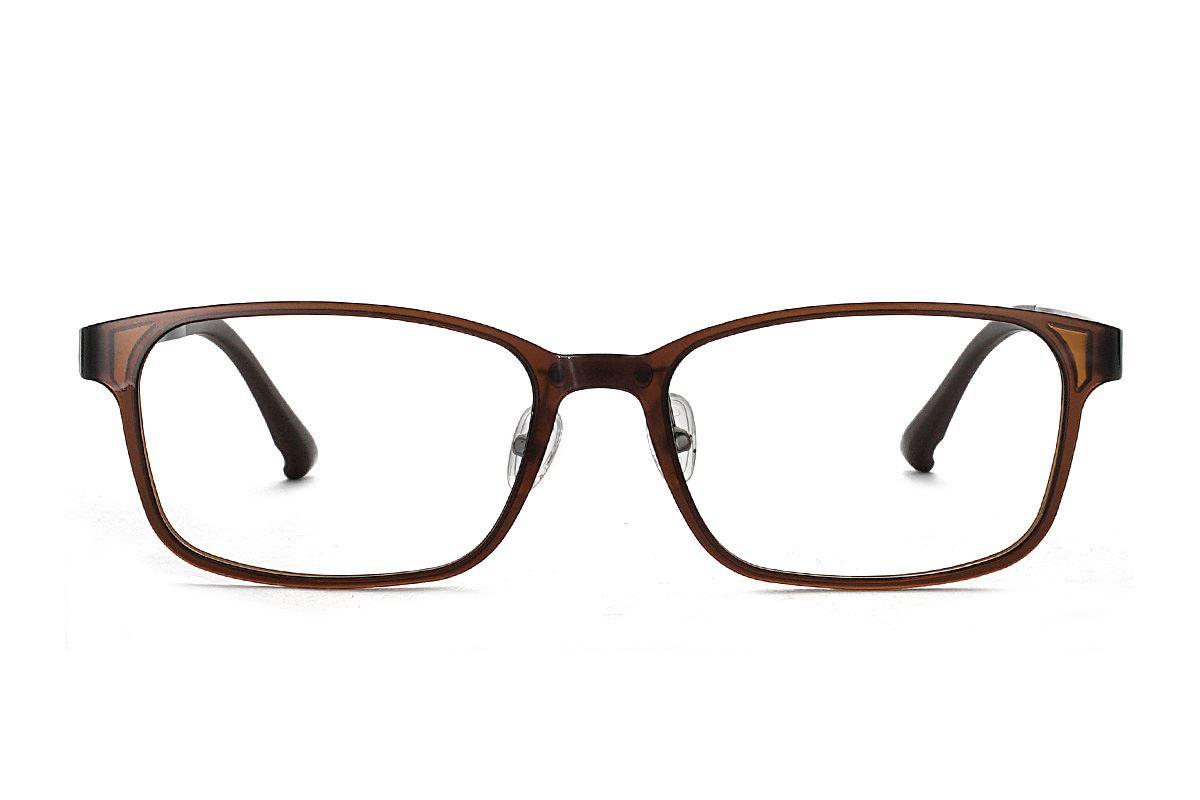 严选韩制塑钢眼镜 1518-BO2