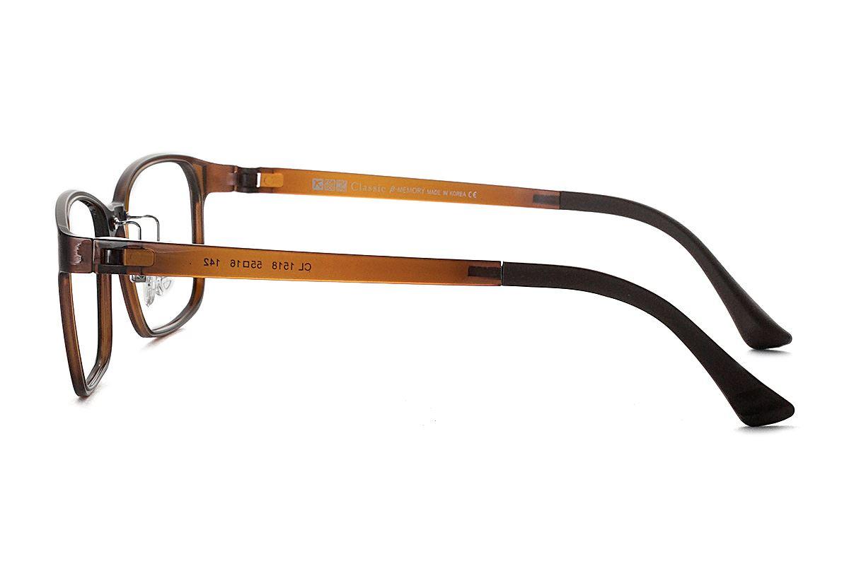 严选韩制塑钢眼镜 1518-BO3