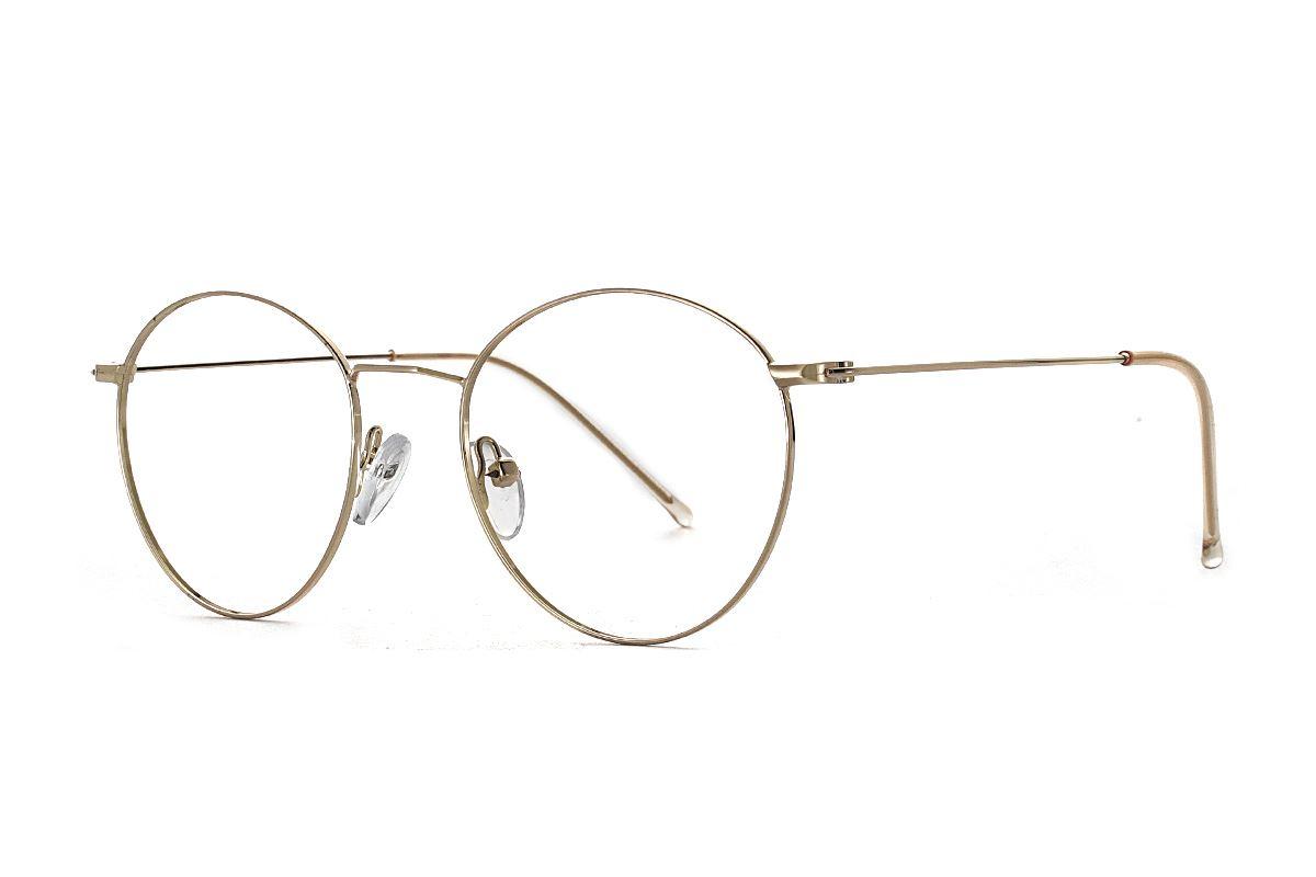 金色细框眼镜 FV22337-C21