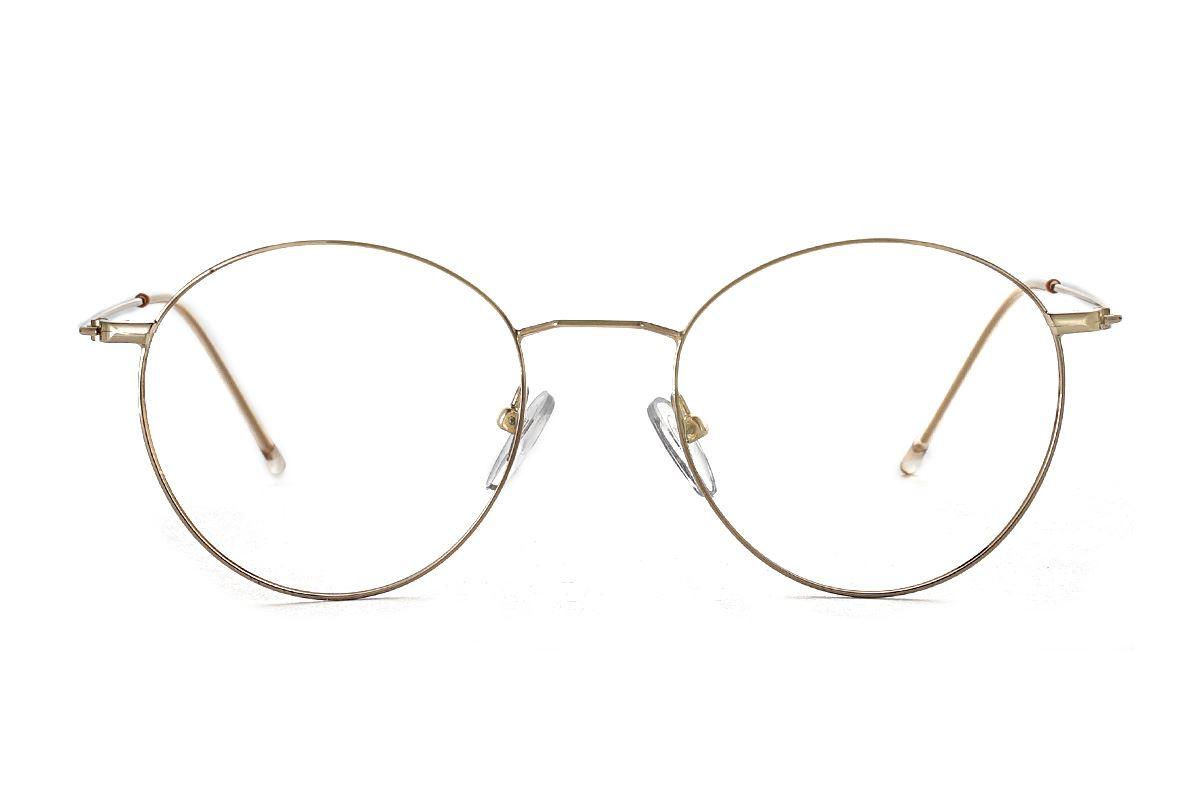 金色细框眼镜 FV22337-C22
