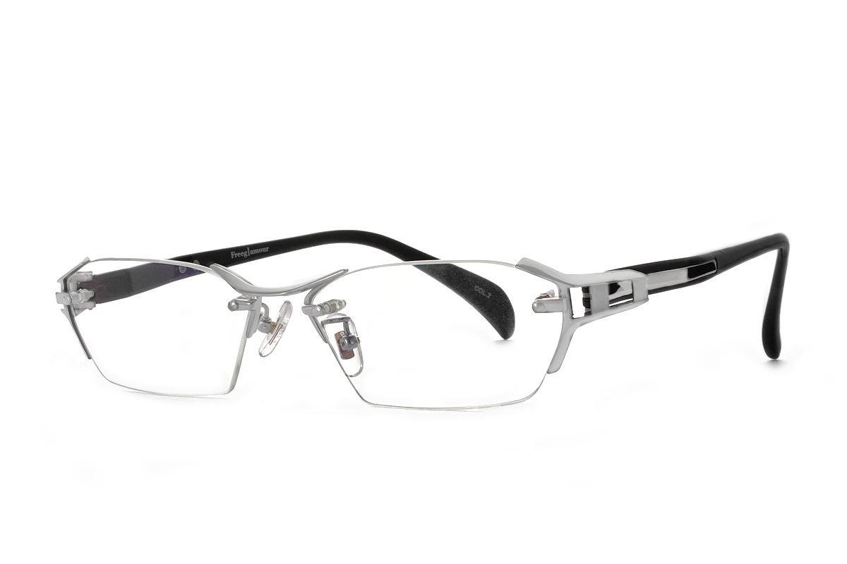 高质感无边金属镜框 M1141-C21