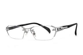 眼鏡鏡框-高質感無邊金屬鏡框 M1141-C2